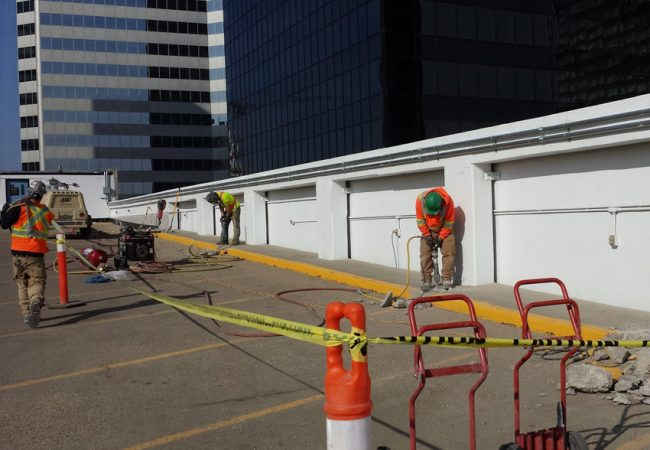 Edmonton City Centre East Parkade Restoration