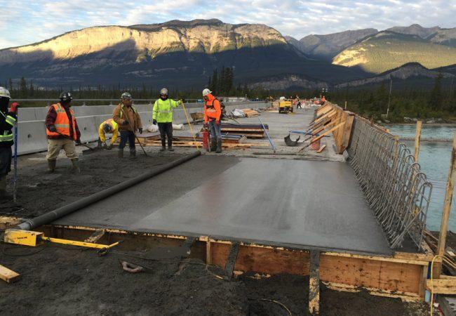Athabasca River Bridge (West) Bridge Rehabilitation